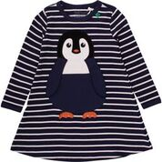Freds World by Green Cotton Penguin Dress Longsleeve
