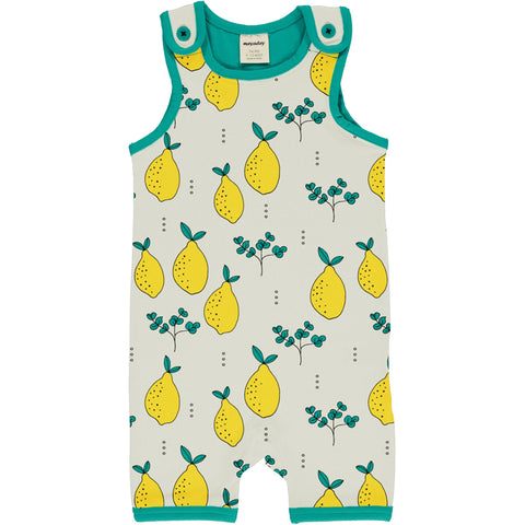 Meyaday Leafy Lemon Playsuit Short