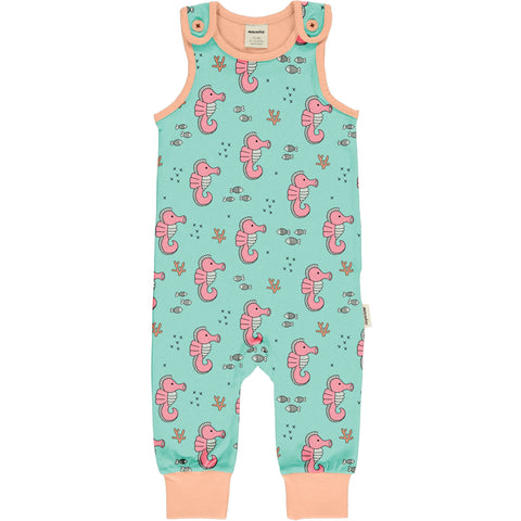 Meyaday Sea Horses Playsuit