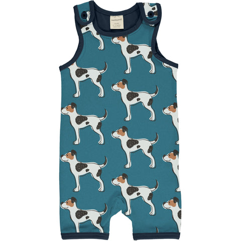 Maxomorra Farmdog Playsuit Short