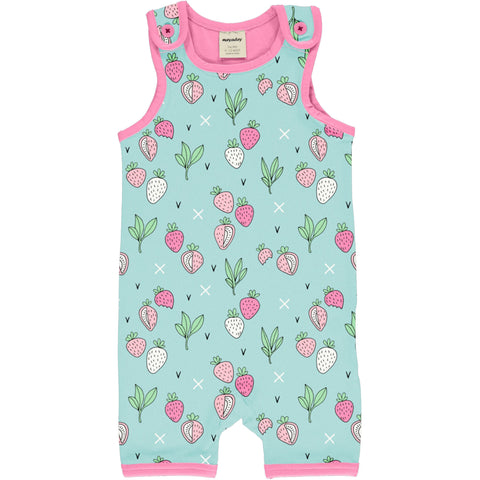 Meyaday Strawberry Fields Playsuit Short