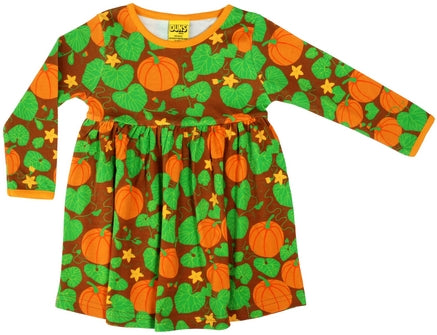 Duns Pumpkin Brown Adult Dress