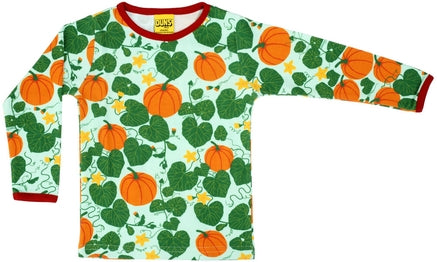Duns Pumpkin Jade Adult Longsleeve Top