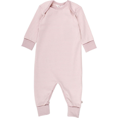 Muesli by Green Cotton striped jumpsuit