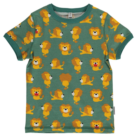 Maxomorra Lion Top Shortsleeve