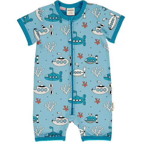 Meyaday Submarine Waters Rompersuit Short