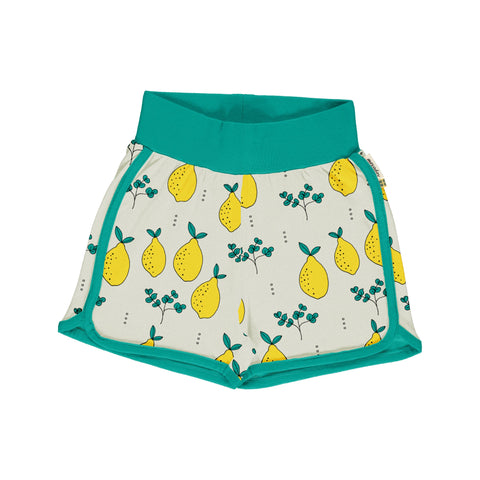 Meyaday Leafy Lemon Runner Shorts