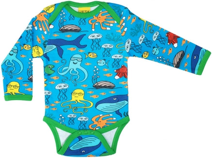 Duns Sealife Blue longsleeve body