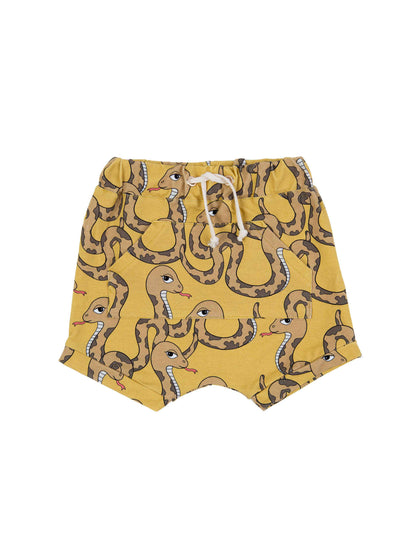 Dear Sophie Snake Yellow Shorts