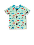 Jny Swimming Fish Top shortsleeve