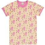 Meyaday Perky Poodle Mummy Top Shortsleeve