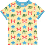 Maxomorra  Beach Buddies Top Shortsleeve