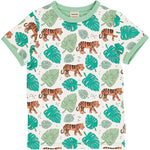 Meyaday Tiger Jungle Top Shortsleeve