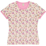 Meyaday Shelly Crab Mummy Top Shortsleeve