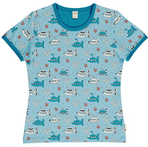 Meyaday Submarine Waters Top Shortsleeve Mummy