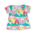 Jny Unicorn Puffy Shirt Shortsleeve