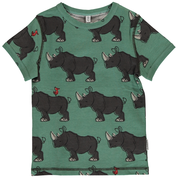 Maxomorra Rhino Top  Shortsleeve