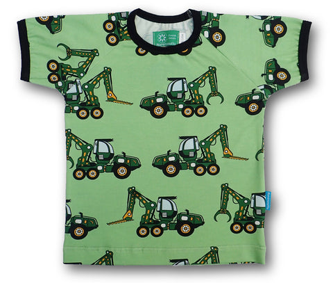 Naperonuttu Forest Maschine Top Shortsleeve