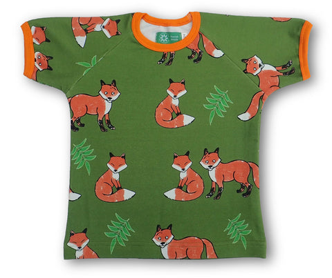 Naperonuttu Fox Top Shortsleeve