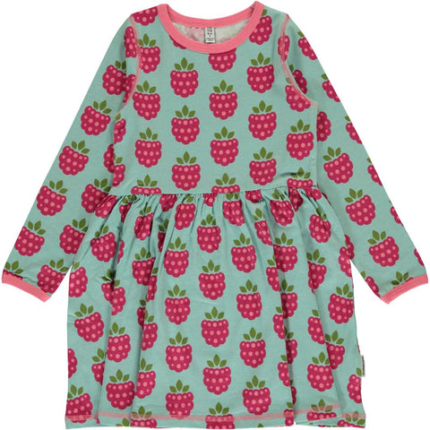 Maxomorra Raspberry Dress Spin Twirly