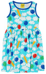 Duns A Cloudy Day Twirly Dress Sleeveless
