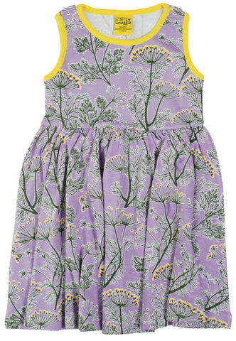 Duns Dill Violet Dress Twirly