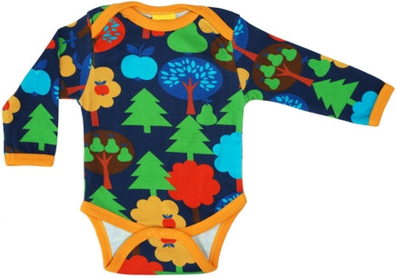 Duns Fruit Garden Navy Body longsleeve