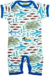 Duns Fish and Diver Summersuit Shortsleeve