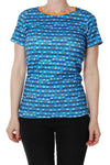 Duns Boats Blue Top Mummy Shortsleeve