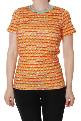 Duns Boat Orange Mummy Top Shortsleeve