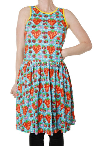 Duns Strawberry Fields Light Turquoise Dress Mummy Sleeveless Twirly