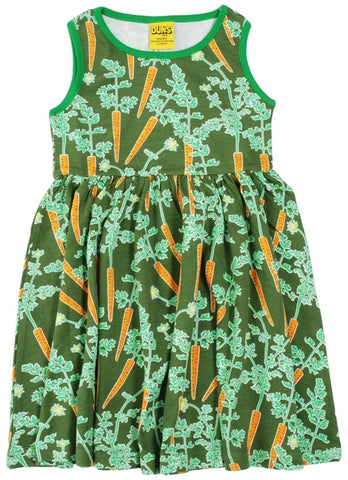 Duns Carrots Dress Twirly Sleeveless
