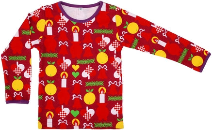 Duns Christmas Candle Longsleeve Top