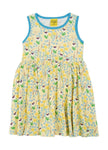 Duns Meadow Yellow Dress Twirly Sleeveless