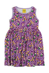 Duns Meadow Purple Dress Twirly Sleeveless