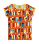 Duns Ice Cream Pumpkin Top Shortsleeve Mummy
