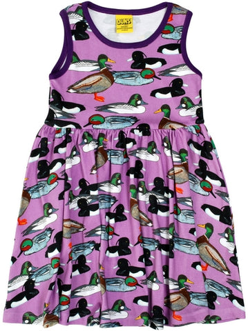 Duns Duck Violet Dress Twirly Skirt