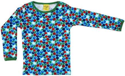 Duns Blueberry Blue Longsleeve Top