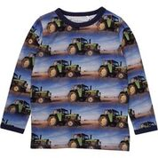 Fred's World by Green Cotton Tractor Photo Longsleeve Top