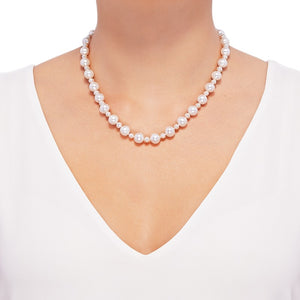 4.5-9.5 mm Pearl Strand Necklace