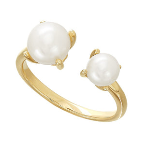 5 & 7 mm Pearl Open Cuff Ring
