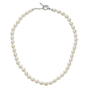 7-7.5 mm Pearl Strand Toggle Necklace