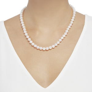 7-8 mm Pearl Strand Necklace