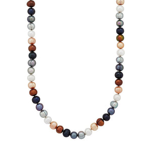 7-8 mm Lynx Potato Pearl Strand Necklace