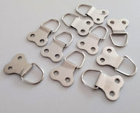 Double D Rings - with 13mm screws - White Frame Company