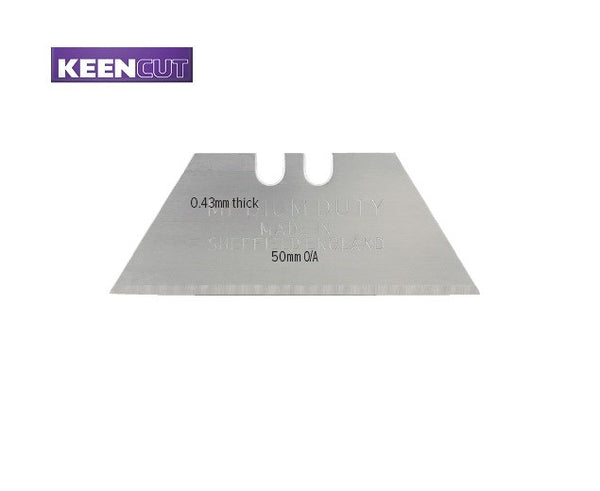 Keencut CA50-019 Medium Duty Blades 0.43mm - Pack of 10