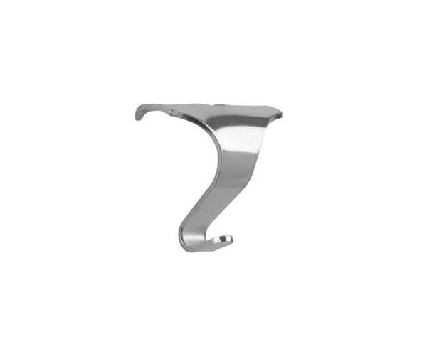 Silver Picture Rail Hook - Medium Size - 10 Pack
