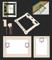 SMALL CANVAS / FLOATER / BOX FRAME HANGING KIT - White Frame Company