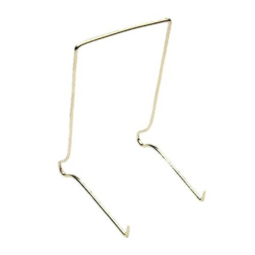 "Wire Plate Stands - 6"" No.4 175mm - Pack of 10 - White Frame Company"