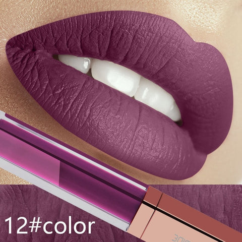 Waterproof Mate Red Long Lasting Ultra Liquid Lipstick